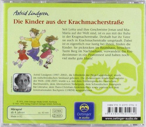 Die Kinder aus der Krachmacherstraße: Hörspiel: Alle Infos bei Amazon