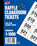 Cloakroom Tickets, 1 to 1000