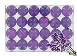 Caja de 24baño perlas–Lavander translúcido