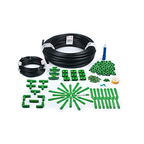 M DripKit Drip Irrigation Garden Watering 50 Plants Drip Kit