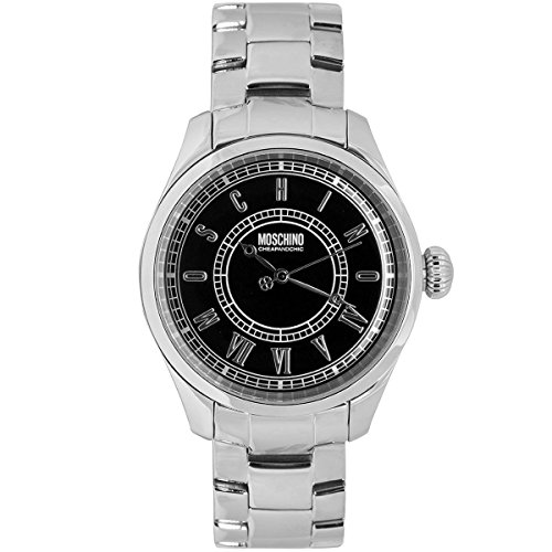 Moschino Montre Quartz Time For Vintage 45 mm Argent