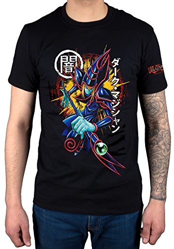 Official Yu-Gi-Oh Dark Magician T-Shirt Card Game Animation Japenese