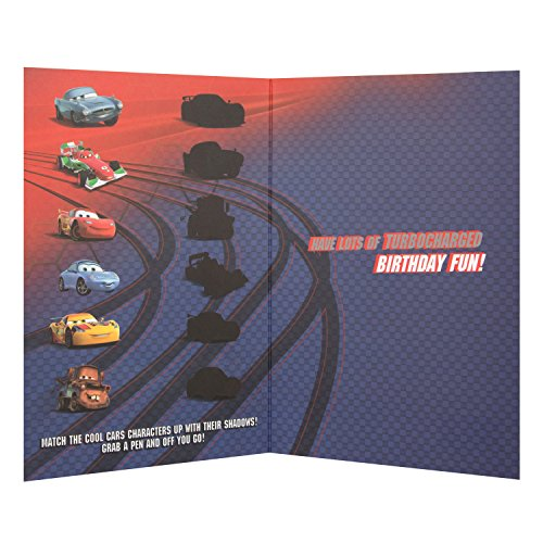 Hallmark Disney Cars 3rd Birthday Card Ready Set Go