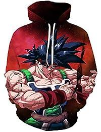 Lonimor Drawstring Sudadera con Capucha Hombre Sra. 3D Impresión Pullover  De Tendencia Hoodie Sweatshirt De 84aac6367ed