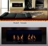 BIO ETHANOL FIRE PLACE MODEL TORNADO (Black) by 'Fireplaces Manufacturer Mierzwa (DF-Shopping,...