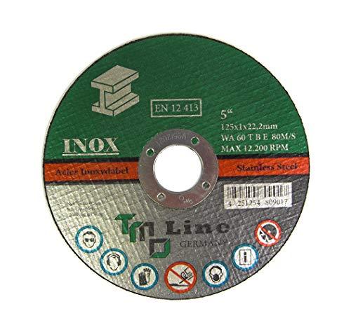 30x Profi Metall Trennscheibe 125 mm 5