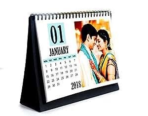 generic pesronalised customised photo calendar 2018 desk calendar
