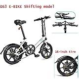 FIIDO D3S Bicicleta eléctrica plegable para adultos, cambio de bicicleta eléctrica, scooter...