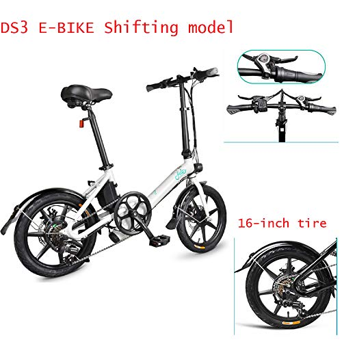 FIIDO D3S Bicicleta eléctrica plegable adultos, cambio