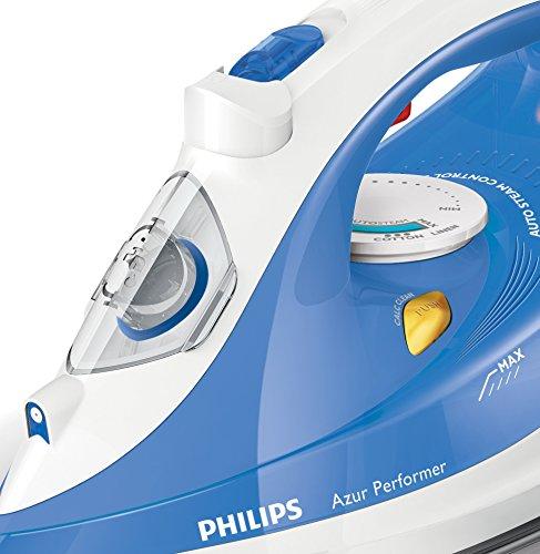Philips GC3810/20 - Plancha de vapor con golpe de vapor de 150 g, 2400 W, control de vapor automático