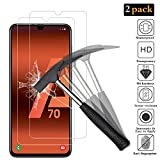ANEWSIR [2 Pack] Verre Trempé pour Samsung Galaxy A70, Film Protection écran en Verre trempé[Easy-Install] [sans Bulles d'air] [Dureté 9H][Garantie de Remplacement à Durée de Vie]