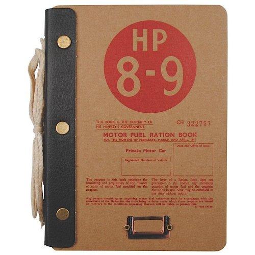 Kraftstoff BW Notration Hartfaser Notizbuch