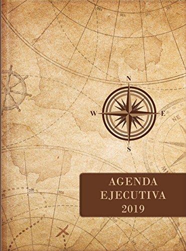 2019 Agenda Ejecutiva - Tesoros de Sabiduría - Papel Natural: Agenda Ejecutivo Con Pensamientos Motivadores y Versículos de la Biblia por Jon Gabriel Escribano