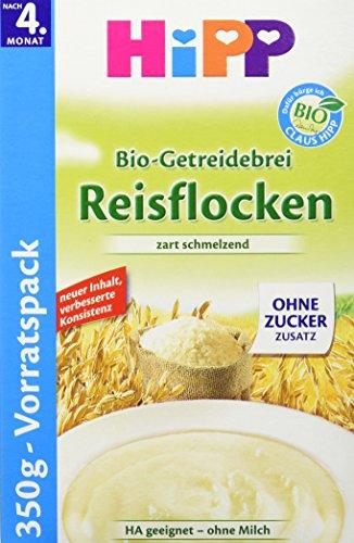 Hipp Bio-Getreidebrei Reisflocken zart schmelzend , 350g