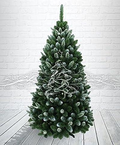 Künstlicher Weihnachtsbaum Kiefer Gold beschneit 220