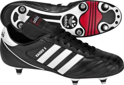 adidas Kaiser 5 Cup, Herren Fußballschuhe Black/Runwht/Rot