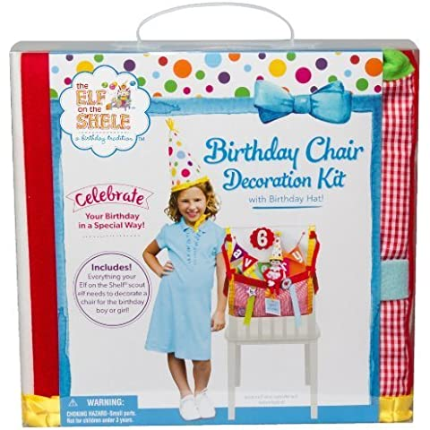 Birthday Chair Decoration Kit by Elf on