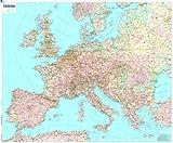 Mapa plastificado Europa Político: 1 (Mapas en tubo y plastificados Michelin)