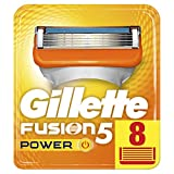 Gillette Männer Fusion5 Power Rasierklingen, 1er Pack (1 x 8 Stück)