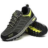 GOMNEAR Uomo Scarpe da escursionismo Scarpe da montagna Trekking Sneaker di viaggio Plus Size disponibile