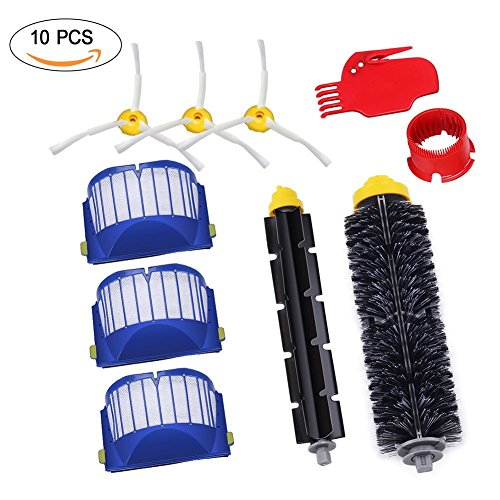 GHB Pack Kit Cepillos Repuestos de Accesorios para Aspiradoras iRobot Roomba...