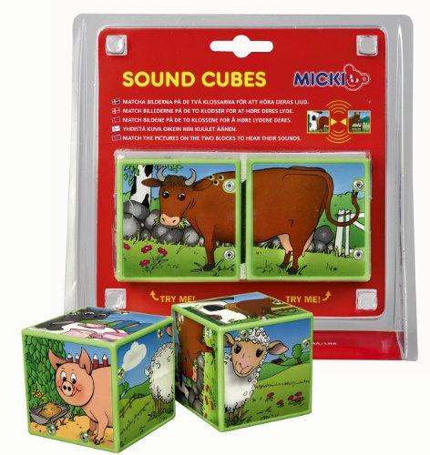 Imagen principal de Micki 10.2070.00  - Cubos de animales con sonido [Importado de Alemania]
