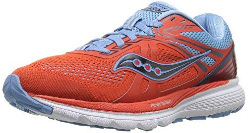Saucony Swerve, Chaussures de Running Entrainement Femme Orange/Blue