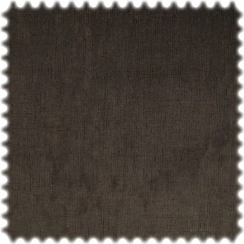 polstereibedarf-online AKTION Original Microfibres® Flockvelours Möbelstoff Longlife Fashion Espresso