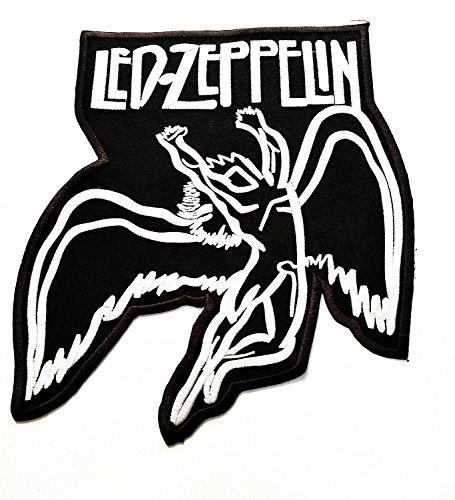 Big Jumbo LED ZEPPELIN Musik Band Patch Logo Jacke Polo T Shirt Patch Sew Iron on gesticktes Badge Schild - Led Band Kostüm