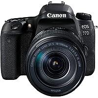 Canon EOS 77D 18-135mm Fotoğraf Makinesi, Full HD (1080p), Siyah