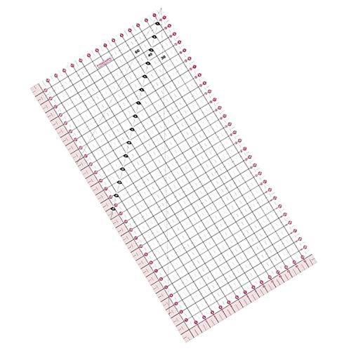 Fiskars Lineal 15 x 30 cm, Optimal für Patchwork, Verschiedene Formen, Acryl, 1003899