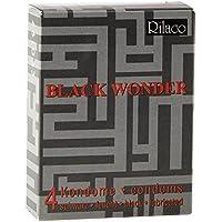 RILACO Kondome in black Wonder 4 Stück, 1er Pack (1 x 4 Stück) preisvergleich bei billige-tabletten.eu