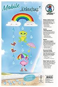 Ursus 21480099F Kit de Manualidades para niños - Kits de Manualidades para niños (Kit de Manualidades para niños, Cartón, Cords, Pegatinas, Niño/niña,, Papel, 210 mm)