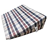 Large (25 x 19 x 8 in) Bed Wedge Pillow - Stops Reflux