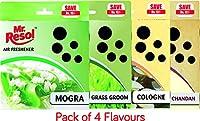 Mr. Resol Air Freshner Cube 50gm (Pack Of 4)