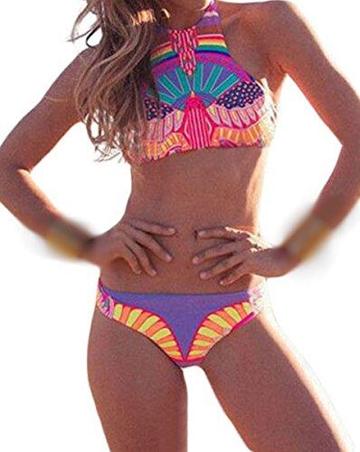 E-Girl D41717 Sexy Deman Bikini Schwimmanzug Mehrfarbig