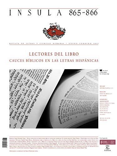 Lectores del Libro: cauces bíblicos en las letras hispánicas (Ínsula n° 865-866): (Enero-febrero de 2019) (Monográficos) (Spanish Edition)