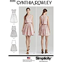 Simplicity Misses Dress by Cynthia Rowley Sewing Pattern, Paper