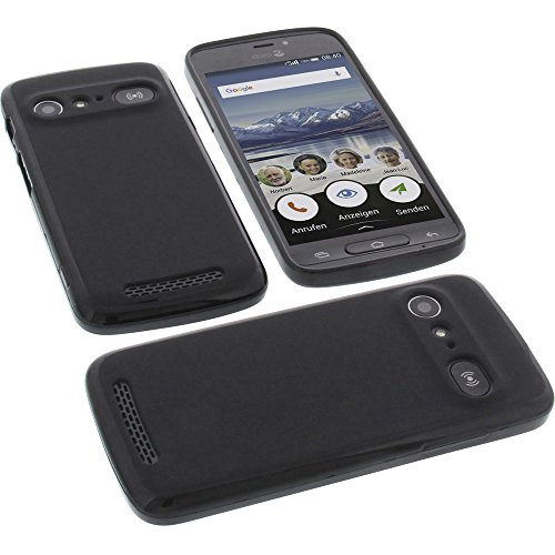 foto-kontor Funda para Doro 8040 Protectora de Goma TPU para móvil Negra
