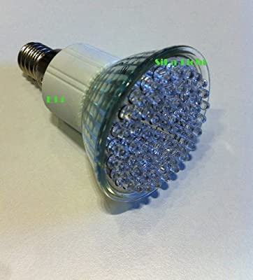 1 x 60er Power LED Leuchtmittel mit E14 Gewinde 230V - 2,5W=50W in Lichtfarbe-Warmweiss
