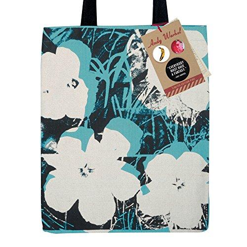 Andy Warhol Poppies Tote Bag (Tote Artist Bag)