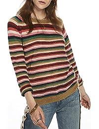 Scotch & Soda Damen Knitted Stripe Pullover