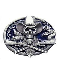 Buckle Cowboy Skull, Western, Wild West, Gürtelschnalle