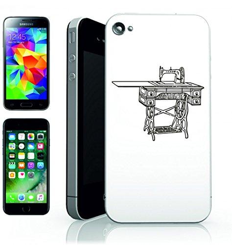 Smartphone Case Antico di macchina da cucire cucitura-Retro vecchio anno Gang per Apple Iphone 4/4S, 5/5S, 5C, 6/6S, 7& Samsung Galaxy S4, S5, S6, S6Edge, S7, S7Edge Huawei HTC–Divertimento Mo