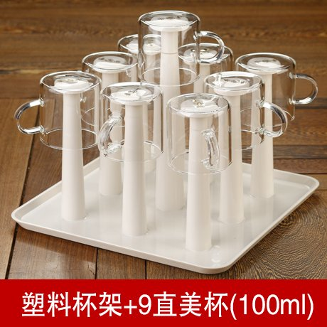 plastik - drain becherhalter glas cup cup rack regal drainboard