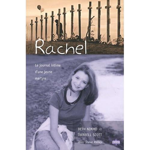 Rachel : le journal intime d'une jeune martyre
