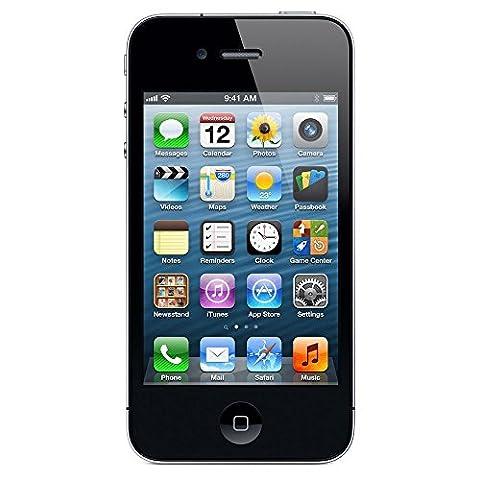 Apple iPhone 4 Smartphone (8,9 cm (3,5 Zoll) Display, 5 Megapixel Kamera, 8GB interne Speicher, WiFi) schwarz - Neu - Neutrale