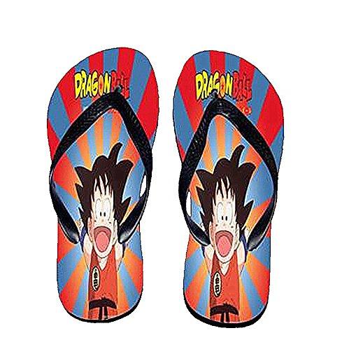 Bromeo Dragon Ball Anime Unisexe Flip Flops Tongs 900