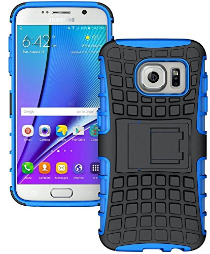 SWAN Flip Kick Stand Spider Hard Dual Rugged Armor Hybrid Bumper Back Case Cover for Samsung Galaxy S7 - With Hybrid Kickstand  available at amazon for Rs.150