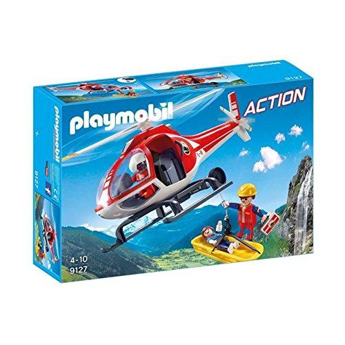 Playmobil Action Helicoptero Rescate Montaña